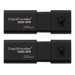 Флеш-накопичувач Kingston DataTraveler 100 G3 USB3.1 2x32GB