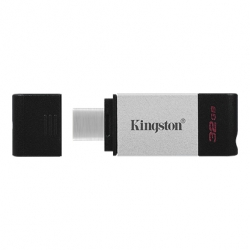Флеш-накопичувач Kingston DataTraveler 80 32GB Type-C
