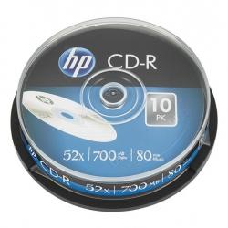 Диск CD HP CD-R 700MB 52X 10шт Spindle