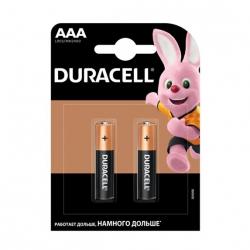 Батарейка Duracell MN2400 AAA/LR03 BL 2шт