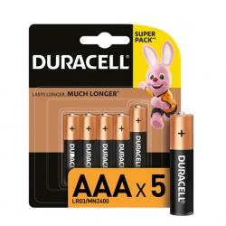 Батарейка Duracell Basic AAA/LR06 MN1500 BL 5шт