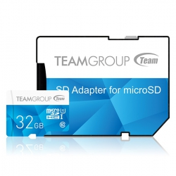 Карта пам'яті MicroSDHC 32GB UHS-I Team Color  Blue