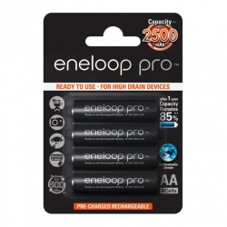 Акумулятор Panasonic Eneloop Pro AA (R6) 2500 mAh NiMh 4шт