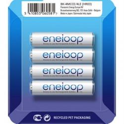 Акумулятор Panasonic Eneloop AAA 750mAh NiMh 4шт