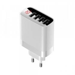 Мережевий зарядний пристрій Baseus Mirror Lake Digital Display White