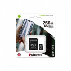 Карта пам'яті MicroSDXC 256GB UHS-I/U3 Class 10 Kingston Canvas Select Plus