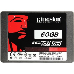 "Накопичувач SSD 60GB Kingston SSDNow KC300 2.5"" SATAIII"