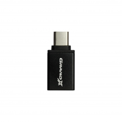 Адаптер Grand-X USB Type-C(BM)-USB 3.0(AF) Black