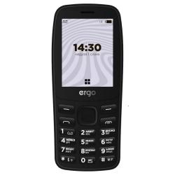 Мобільний телефон ERGO B241 Black Dual Sim
