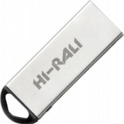Флеш-накопичувач USB 64GB Hi-Rali Fit Series Silver