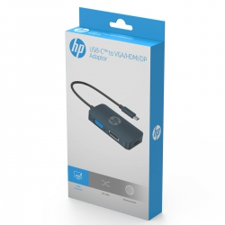 Переходник HP USB Type-C-HDMI/VGA/DP
