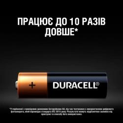 Батарейки Duracell ААА LR03 MN2400 1x12 шт.