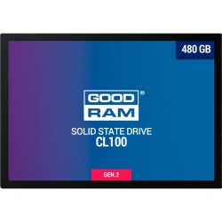 "Накопичувач SSD 2.5"" GOODRAM CX400 480GB SATAIII"