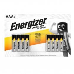 Батарейки Energizer AAA Alk Power 8 шт.