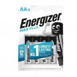 Батарейки Energizer AA Max Plus 4 шт