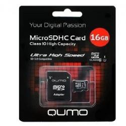 Карта пам'яті Qumo 16 GB class 10